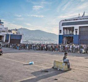 Ανοίγει τις πόρτες της ξανά η Τουρκία: 5.700 πρόσφυγες μόνο στον καταυλισμό στη Μόρια - Κυρίως Φωτογραφία - Gallery - Video