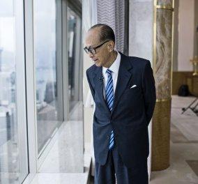 Λι Κα-σινγκ: Αποσύρεται στα 90 του ο πλουσιότερος άνθρωπος στο Χονγκ Κονγκ- Μια ζωή σαν παραμύθι - Κυρίως Φωτογραφία - Gallery - Video