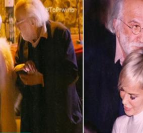 Αλέξανδρος Λυκουρέζος: Η βραδινή έξοδος με την Νατάσα Καλογρίδη, 7 μήνες μετά τον θάνατο της Ζωής Λάσκαρη (ΒΙΝΤΕΟ) - Κυρίως Φωτογραφία - Gallery - Video