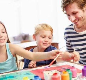 Μαμά, μπαμπά...ζωγραφίζουμε μαζί;  Εικαστικά εργαστήρια για γονείς και παιδιά 2,5 - 5 ετών στο Μουσείο Ελληνικής Παιδικής Τέχνης! - Κυρίως Φωτογραφία - Gallery - Video