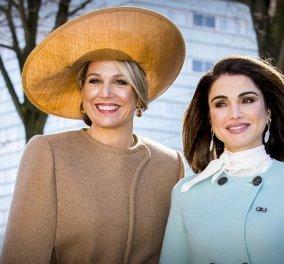 2 βασίλισσες καλλονές, 2 κόσμοι: Ανταγωνισμός σε υπεροχα παλτό! Ράνια της Ιορδανίας & Μάξιμα της Ολλανδίας (ΦΩΤΟ) - Κυρίως Φωτογραφία - Gallery - Video
