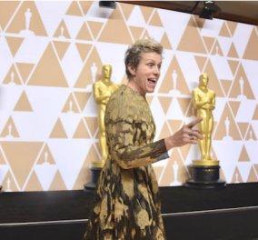 Έκλεψαν το Όσκαρ Α' γυναικείου ρόλου - Πανικός για την Φράνσις Μακντόρμαντ μέχρι να συλληφθεί ο δράστης - Κυρίως Φωτογραφία - Gallery - Video