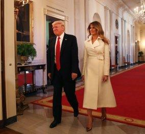 Προσκεκλημένος του ζεύγους Trump στον Λευκό Οίκο πολύ γνωστός Έλληνας τραγουδιστής - Κυρίως Φωτογραφία - Gallery - Video