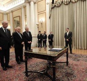 Ανασχηματισμός 2018: Ορκίστηκαν τα νέα μέλη της κυβέρνησης στο Προεδρικό Μέγαρο (ΦΩΤΟ - ΒΙΝΤΕΟ)  - Κυρίως Φωτογραφία - Gallery - Video
