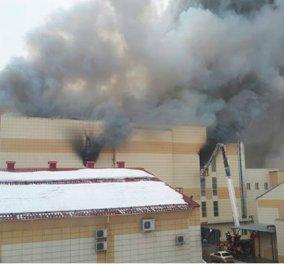 """Εθνική τραγωδία στη Ρωσία! """"Τουλάχιστον 48 οι νεκροί"""", ανάμεσα τους11 παιδιά από την πυρκαγιά σε εμπορικό κέντρο (ΦΩΤΟ - ΒΙΝΤΕΟ) - Κυρίως Φωτογραφία - Gallery - Video"""