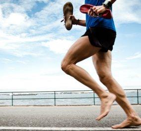 """Το ξέρατε; Νέα έρευνα δείχνει πως όταν τρέχουμε ξυπόλυτοι ενισχύουμε τη μνήμη - """"Bye bye shoes..."""" - Κυρίως Φωτογραφία - Gallery - Video"""