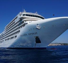 Good news: Το πολυτελές κρουαζιερόπλοιο «Silver Spirit» προσφέρει στήριξη σε ιδρύματα στα Χανιά - Κυρίως Φωτογραφία - Gallery - Video