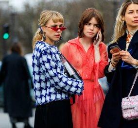 Street Style: 189 εικόνες για να κλέψετε ιδέες πως ντύνονται οι στιλάτες γυναίκες στο Παρίσι (ΦΩΤΟ) - Κυρίως Φωτογραφία - Gallery - Video
