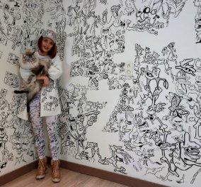 Θα μένατε εδώ; Δείτε πως ζωγράφισε όλα τα δωμάτια του σπιτιού όπου μένει με σύζυγο & παιδί (ΦΩΤΟ) - Κυρίως Φωτογραφία - Gallery - Video