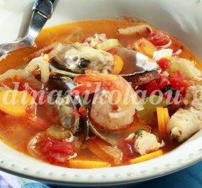 Κυριακή των Βαΐων σήμερα- Ετοιμάστε ψάρια στην κατσαρόλα με στιλ μεσογειακό! Μια μοναδική συνταγή της Ντίνας Νικολάου - Κυρίως Φωτογραφία - Gallery - Video