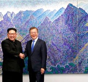 Ιστορική στιγμή για Βόρεια & Νότια Κορέα: Τέλος στα πυρηνικά- Συμφωνία για νέα εποχή ειρήνης ανάμεσα στις δύο χώρες - Κυρίως Φωτογραφία - Gallery - Video