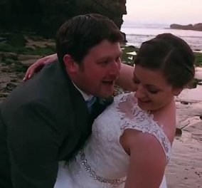 Ξεκαρδιστικό βίντεο γάμου που παραπέμπει σε κωμωδία-  Δεν θα πιστέψετε τι έγινε!   - Κυρίως Φωτογραφία - Gallery - Video