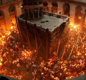 Live: Παρακολουθήστε την τελετή Αφής του Αγίου Φωτός στην Ιερουσαλήμ - Κυρίως Φωτογραφία - Gallery - Video