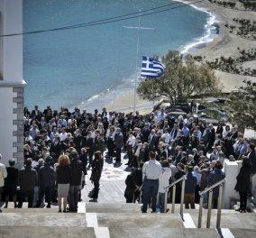 """Αλέξανδρος Σταματιάδης: Στην Άνδρο το τελευταίο """"αντίο"""" στον άτυχο επιχειρηματία- Θρήνος στην κηδεία (ΦΩΤΟ) - Κυρίως Φωτογραφία - Gallery - Video"""