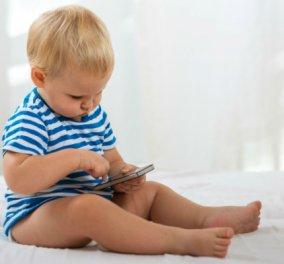 """Νο1 κίνδυνος για τα νήπια τα... smartphones - """"Έχουν ξεχάσει να γυρνούν τις σελίδες των βιβλίων"""" - Κυρίως Φωτογραφία - Gallery - Video"""