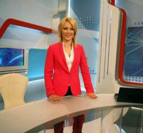 Η άψογη σιλουέτα της παρουσιάστριας ειδήσεων Ρίτσας Μπιζόγλη - Σοβαρό δημοσιογραφικό στυλ (ΦΩΤΟ) - Κυρίως Φωτογραφία - Gallery - Video
