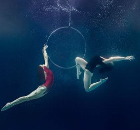 Απίθανες υποβρύχιες φωτογραφίες του Brett Stanley με ακροβάτες να χορεύουν κάτω από το νερό   - Κυρίως Φωτογραφία - Gallery - Video