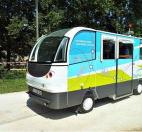 Good news: Μετά τα λεωφορεία δίχως οδηγό στα Τρίκαλα έρχονται τα ηλεκτρονικά ποδήλατα & τρίκυκλα - Κυρίως Φωτογραφία - Gallery - Video