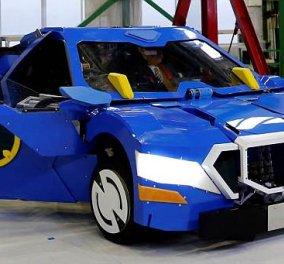Ιάπωνες κατασκεύασαν το πρώτο πραγματικό Transformer - Το ρομπότ έχει ύψος 3.7 μέτρα (ΒΙΝΤΕΟ)  - Κυρίως Φωτογραφία - Gallery - Video
