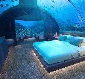 Μία υποβρύχια βίλα των ονείρων & του εξωτικού παραμυθιού ανοίγει στις Μαλδίβες (ΦΩΤΟ) - Κυρίως Φωτογραφία - Gallery - Video