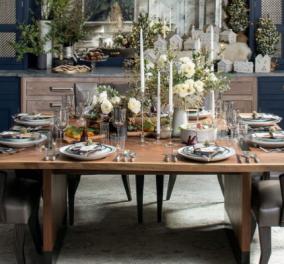 Φώτο - στρώνω το τραπέζι μου με τέχνη: Το art de la table με υψηλή αισθητική - Διαφορετικές ιδέες...  - Κυρίως Φωτογραφία - Gallery - Video