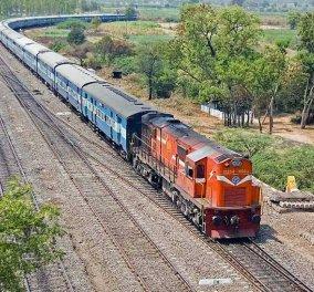 Ινδία: 22 Bαγόνια τραίνου με 1.000 επιβάτες αποκόπηκαν από τη μηχανή- Κυλούσαν επί 12 χλμ προς τα πίσω! - Κυρίως Φωτογραφία - Gallery - Video