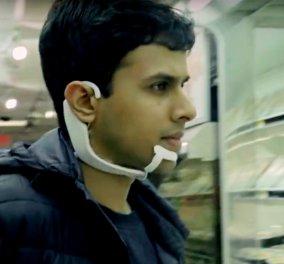 """Δημιουργήθηκε η πρώτη συσκευή που ακούει & καταγράφει την """"εσωτερική μας φωνή"""" (ΒΙΝΤΕΟ) - Κυρίως Φωτογραφία - Gallery - Video"""