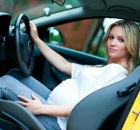 Να τι θα πρέπει να προσέχετε όταν είστε έγκυος & οδηγείτε! - Κυρίως Φωτογραφία - Gallery - Video