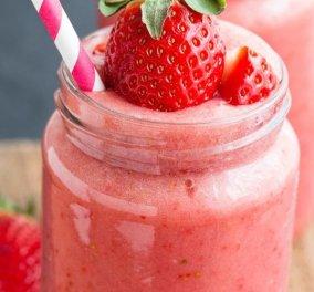 Δυναμωτικό smoothie φράουλα για όλες τις ώρες της ημέρας από τον μοναδικό μας Άκη Πετρετζίκη   - Κυρίως Φωτογραφία - Gallery - Video