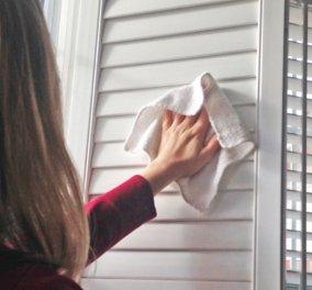 Ο Σπύρος Σούλης μοιράζεται μαζί μας τα μυστικά του: Να πως θα καθαρίσουμε τα παντζούρια μας μέσα σε 5 λεπτά! - Κυρίως Φωτογραφία - Gallery - Video