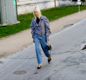 Slingback: Οι πιο μοντέρνες Γαλλίδες φορούν αυτά τα παπούτσια - Τα είδαν στις πασαρέλες & τώρα κυκλοφορούν  - Κυρίως Φωτογραφία - Gallery - Video