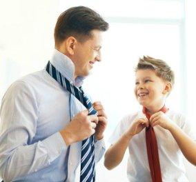 """Το ξέρατε; Αυτή είναι η ηλικία που οι γιοι γίνονται """"κλώνοι"""" των μπαμπάδων τους - Κυρίως Φωτογραφία - Gallery - Video"""