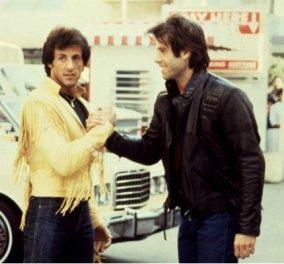 Vintage pic: 1983 - Τζoν Τραβόλτα & Σιλβέστερ Σταλόνε με βοστρύχους στα μαλλιά  - Κυρίως Φωτογραφία - Gallery - Video