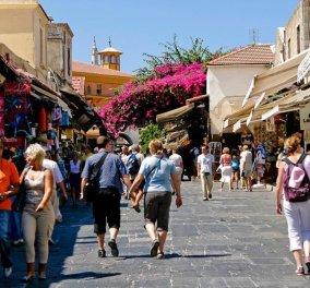 Ξεπέρασαν τα 14,6 δισ. ευρώ τα έσοδα από τον τουρισμό το 2017 - Κυρίως Φωτογραφία - Gallery - Video