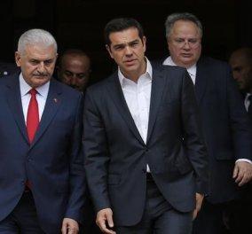 Τι είπαν Τσίπρας-Γιλντιρίμ για τους 2 Έλληνες στρατιωτικούς αλλά & τον Γκιουλέν - Κυρίως Φωτογραφία - Gallery - Video