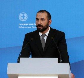 Δημήτρης Τζανακόπουλος: «Δεν επιβεβαιώνεται κανένα περιστατικό παραβίασης σε ελληνικό έδαφος» - Κυρίως Φωτογραφία - Gallery - Video