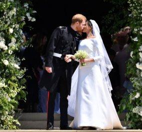 Harry & Meghan: Το πρώτο φιλί ως παντρεμένοι & η βόλτα με την άμαξα (ΦΩΤΟ-ΒΙΝΤΕΟ) - Κυρίως Φωτογραφία - Gallery - Video