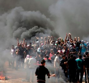 Live: Αυτή την ώρα τα εγκαίνια της Αμερικανικής πρεσβείας στην Ιερουσαλήμ- Τους 38 έφτασαν οι νεκροί - Κυρίως Φωτογραφία - Gallery - Video