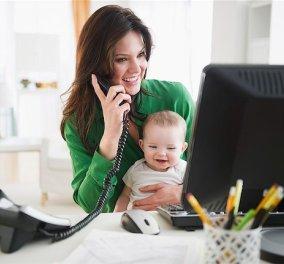 Τι να κάνετε αν είστε μαμά που εργάζεται πολλές ώρες  - Κυρίως Φωτογραφία - Gallery - Video