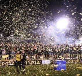 Η ΑΕΚ στεφθηκε «θεά»- Πρωταθλήτρια Ελλάδος μετά από 24 χρόνια! - Κυρίως Φωτογραφία - Gallery - Video