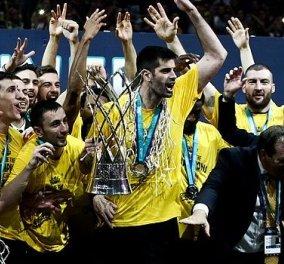 Η ΑΕΚ κατέκτησε το Ευρωπαϊκό! -Κέρδισε την Μονακό στον τελικό του Basketball Champions League - Κυρίως Φωτογραφία - Gallery - Video