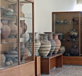 Νυχτοφύλακας του μουσείου Σαντορίνης πιθανόν εμπλέκεται σε υπόθεση αρχαιοκαπηλίας - Κυρίως Φωτογραφία - Gallery - Video