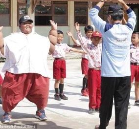 Επιτέλους παίζει το 12χρονο πιο παχουλό παιδί στον κόσμο αφού έχασε 97 κιλά- Ζύγιζε 190! (ΦΩΤΟ) - Κυρίως Φωτογραφία - Gallery - Video