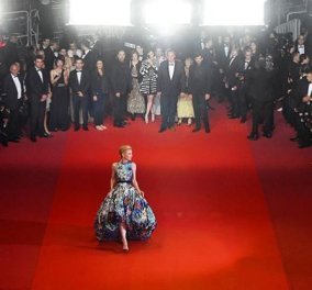 Όταν μετά την Κέιτ Μπλάνσετ, φοράει & η Τζέιν Φόντα Μary Katrantzou το Made in Greece χαίρεται!!! - Κυρίως Φωτογραφία - Gallery - Video