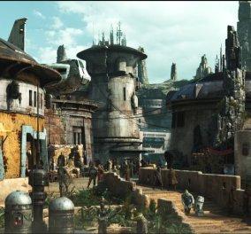 Η Disney μόλις αποκάλυψε τις πρώτες εικόνες από το νέο πάρκο της με έμπνευση Star Wars (ΦΩΤΟ) - Κυρίως Φωτογραφία - Gallery - Video