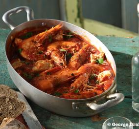 Μοναδική & πιο ελληνική δεν υπάρχει... συνταγή! Γαρίδες σαγανάκι με φέτα & ούζο από την αγαπημένη μας Αργυρώ Μπαρμπαρίγου - Κυρίως Φωτογραφία - Gallery - Video