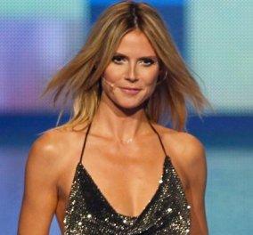 Η Χάιντι Κλουμ εμφανίστηκε με φόρεμα της Celia Kritharioti στον τελικό του «Next Top Model» και μας άφησε άναυδους (ΦΩΤΟ) - Κυρίως Φωτογραφία - Gallery - Video