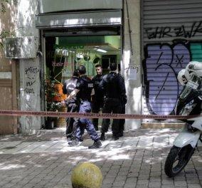 Πυροβόλησαν έναν άνδρα σε κομμωτήριο στην Πλατεία Βικτωρίας- Σε σοβαρή κατάσταση το θύμα - Κυρίως Φωτογραφία - Gallery - Video