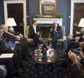 Τι συζήτησαν Πενς - Τσίπρας για το Σκοπιανό - Κυρίως Φωτογραφία - Gallery - Video