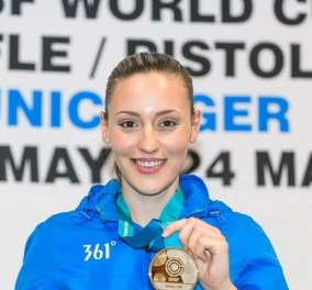 Χρυσό μετάλλιο και παγκόσμιο ρεκόρ στο παγκόσμιο κύπελλο για την Άννα Κορακάκη (ΦΩΤΟ) - Κυρίως Φωτογραφία - Gallery - Video